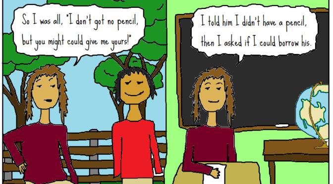 Comment elle parle, la prof ! Revendication d'un code-switching didactique